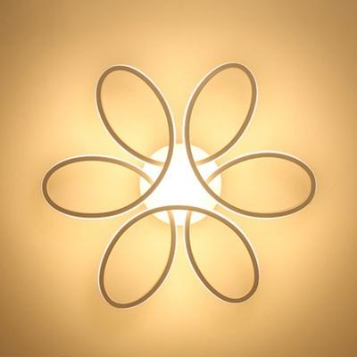 创意花环造型卧室灯