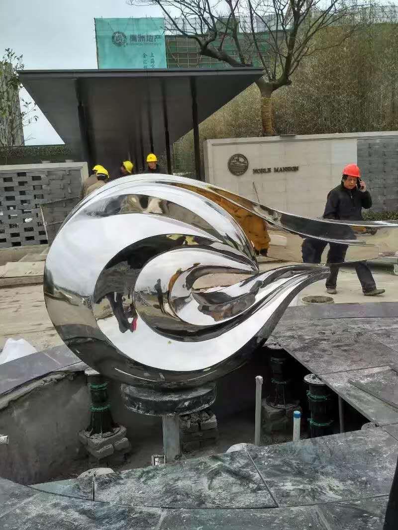 不锈钢雕塑 (1)