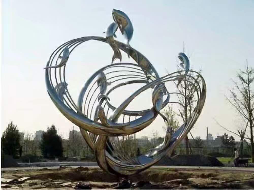 不锈钢雕塑 (16)