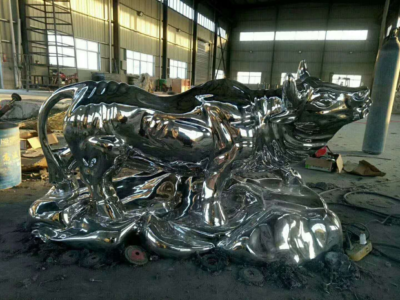 不锈钢雕塑 (11)