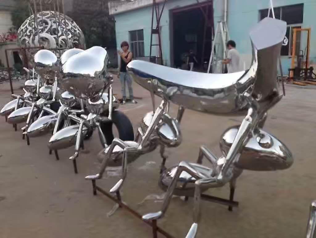 不锈钢雕塑 (21)