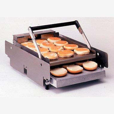 【212-GFCCE】雙層烘漢堡包烤麵包機-輕鬆完美焦化大量麵包|知名連鎖速食餐廳指定款