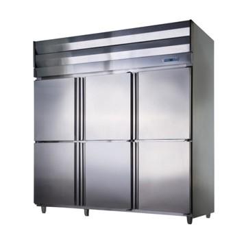 六門半藏半凍立式冰箱