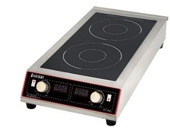 【BT-700D3】商用高功率雙口電磁爐-獨特濾網/黑晶面板/多樣化烹飪