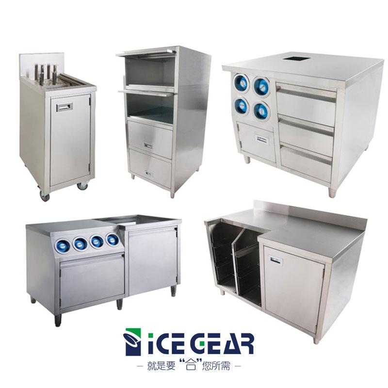 不鏽鋼廚櫃工作台系列