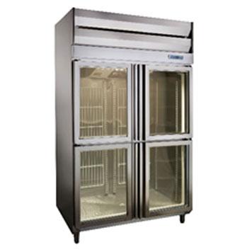 四門全凍展示冰箱