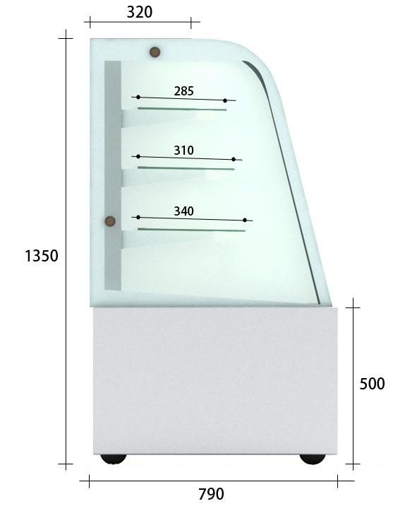 【OTTO-C】豪華型冷藏櫃
