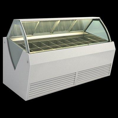 【ICE CREAM】立體型冰淇淋櫃