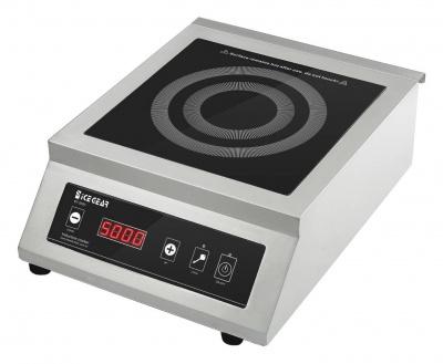 【BT-500C】5KW桌上型商用電磁爐-高強度黑晶面板、雙重防水技術