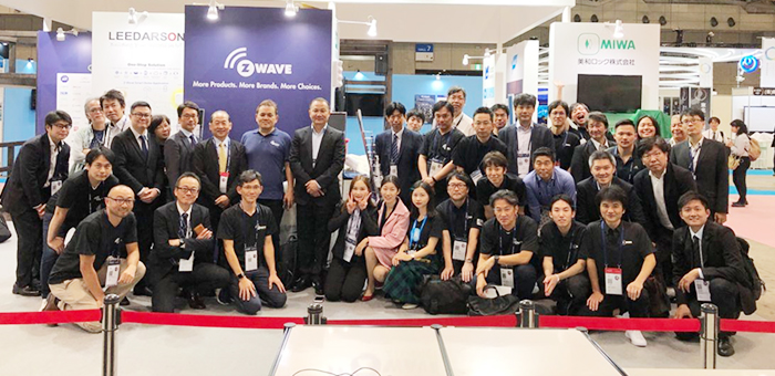 MCOHome First show at CEATEC 2019 in Japan