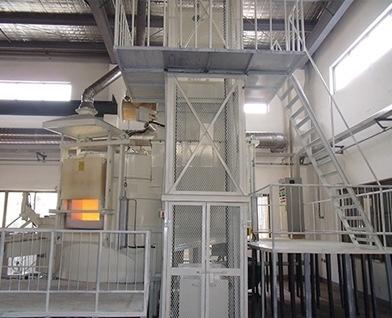 铝合金快速集中融化炉