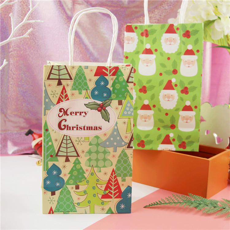 10pcs-lot-Green-Santa-Claus-Christmas-tree-paper-b