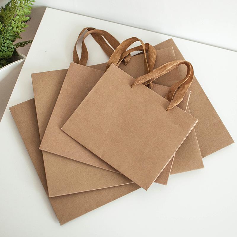 10pcs-Top-quality-Kraft-paper-bag-general-gift-pap