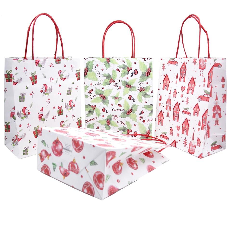 1PCS-Beautiful-Cartoon-Printed-Kraft-Paper-Bags-Ch