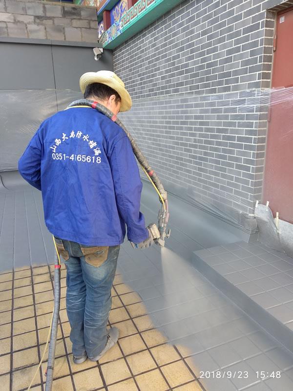 免抛砖上人屋面防水工程