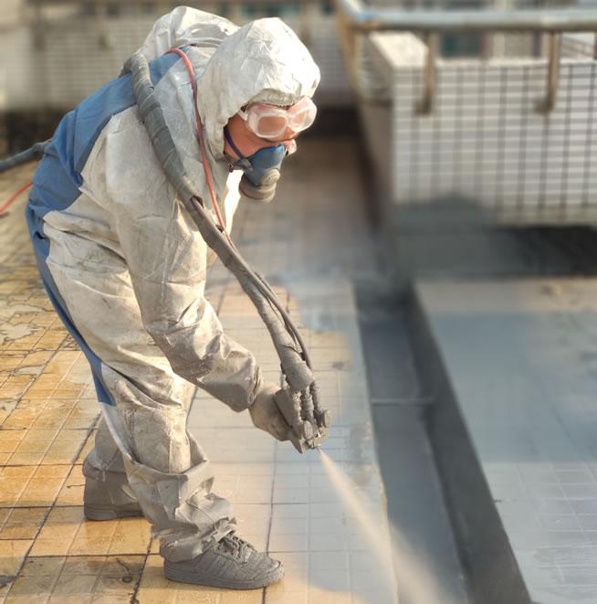 上海五月花上人屋面防水工程