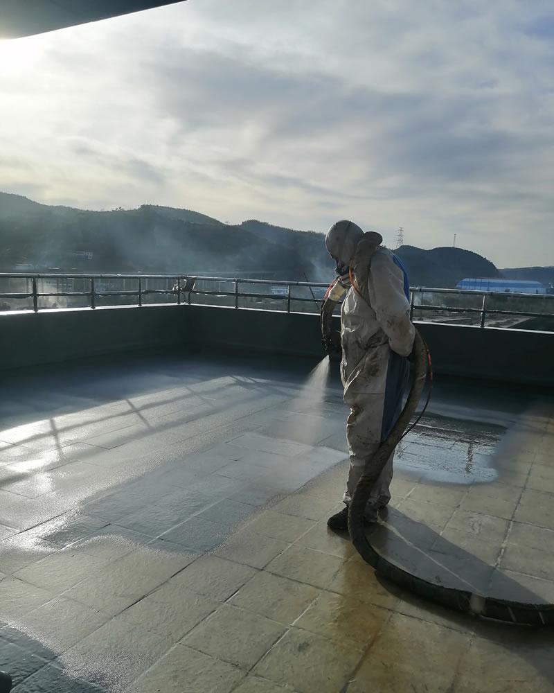 柳林某煤矿上人屋面防水工程