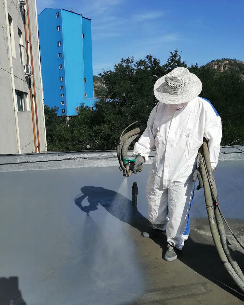屋面防水工程-喷涂聚脲施工