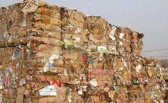 The price of waste paper has been rising for a wee...