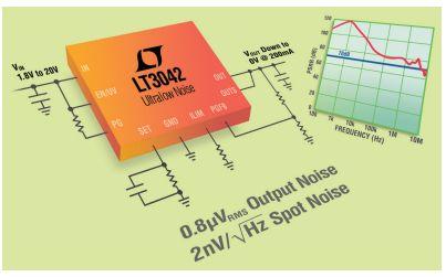 """如何使用超低噪声LDO提供""""干..."""