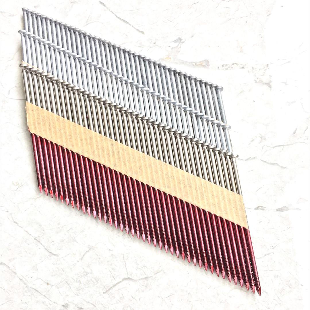 Paper strip Nails