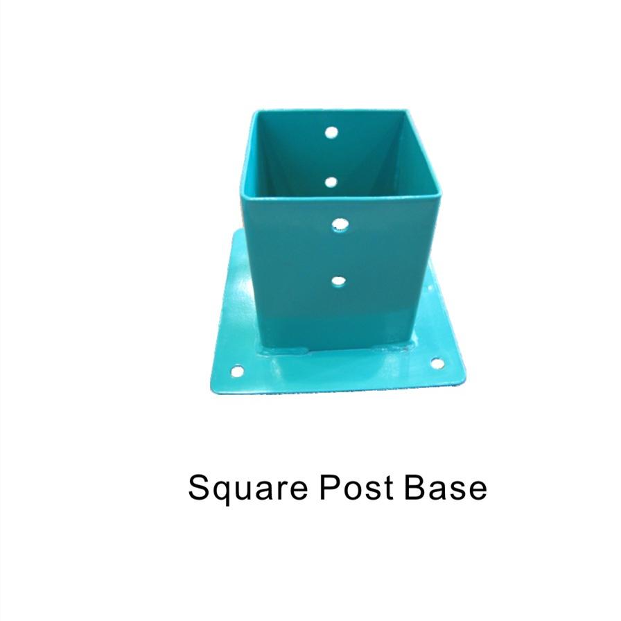 Square post base