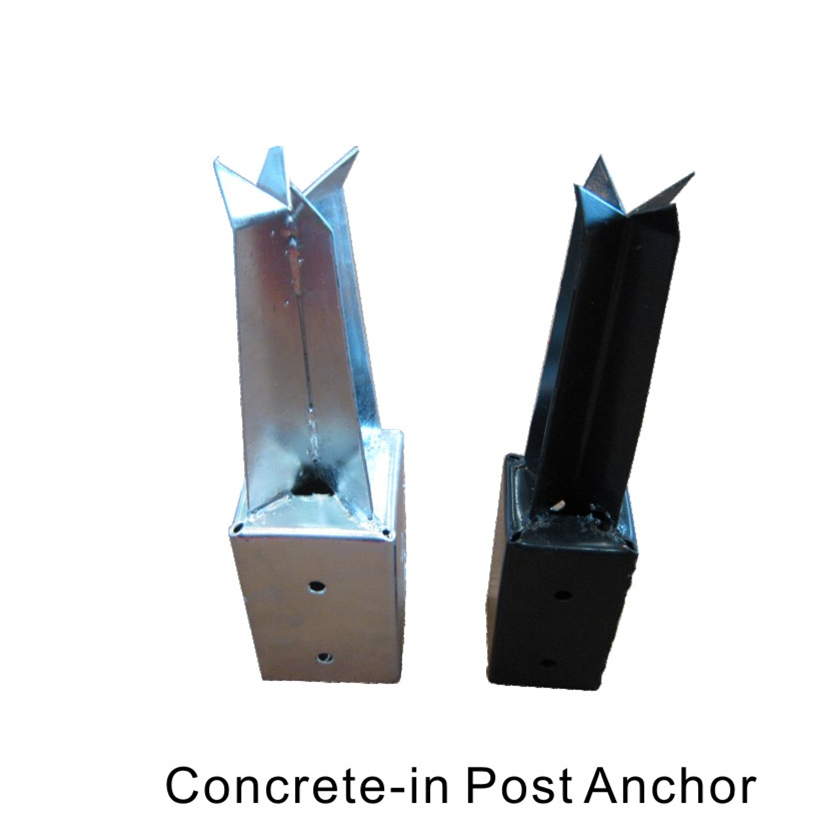 Concrete-in post anchor