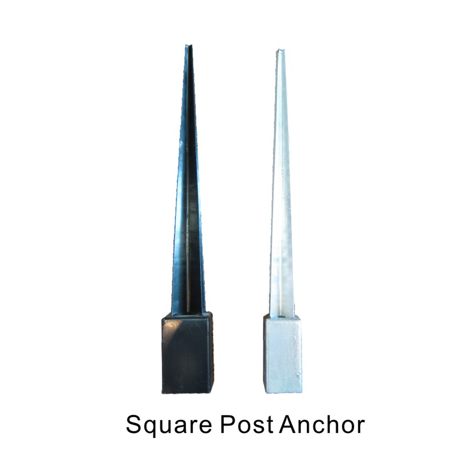 Square post anchor