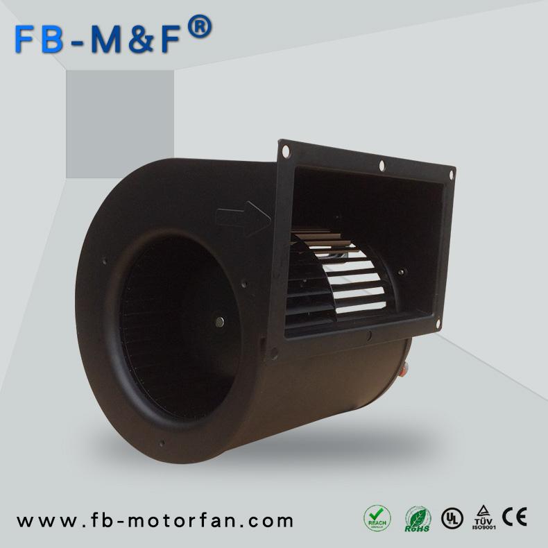 双进风鼓风机因其风量大且低噪音越来越多应用在新风系统和净化设备中