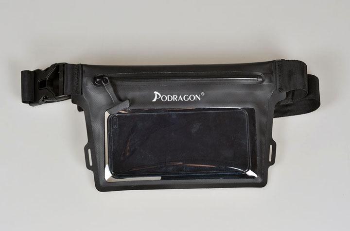 跨界设计 大屏手机防水袋 也是防水腰包
