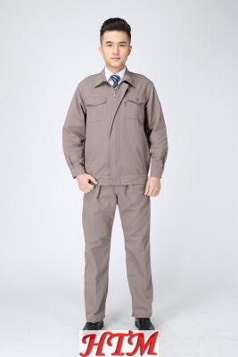 814灰色纯色套装