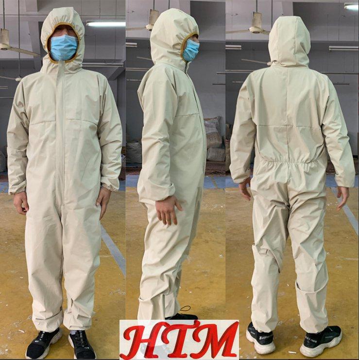 冲锋衣防水透气面料非医用可消毒防护服HTM-CS143