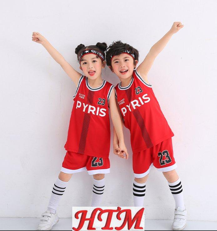 儿童篮球服套装小学生球衣队HTM-CS NY-B0302001