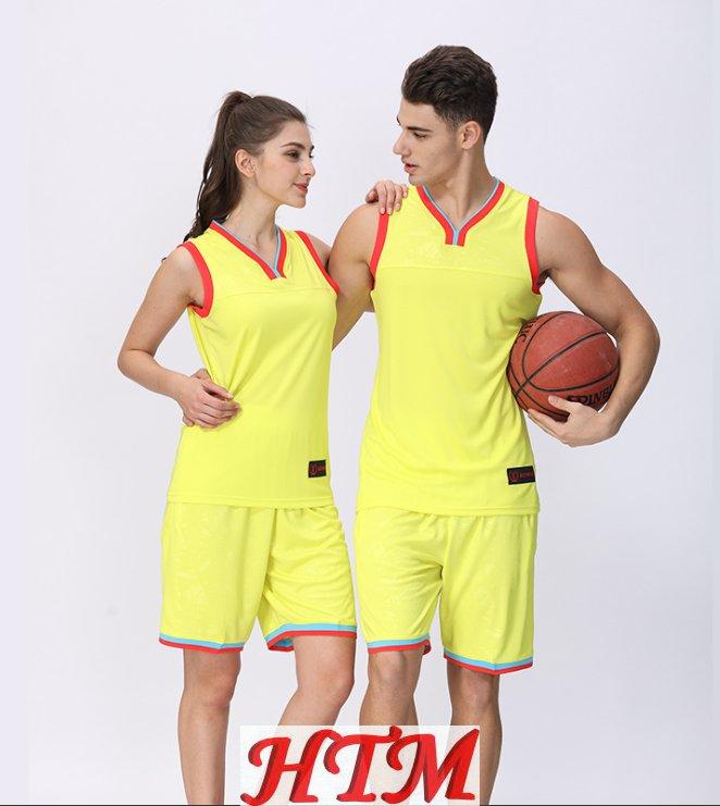 比赛球衣训练队服速干透气NBA男女篮球服套装 HTM-CS 110-1651
