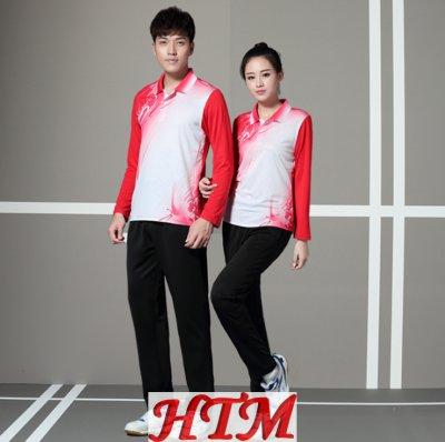 吸汗透气比赛乒乓球羽毛球服 HTM-CS 15-8910
