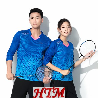 吸汗透气网球服羽毛球服长袖 HTM-CS15-S6800
