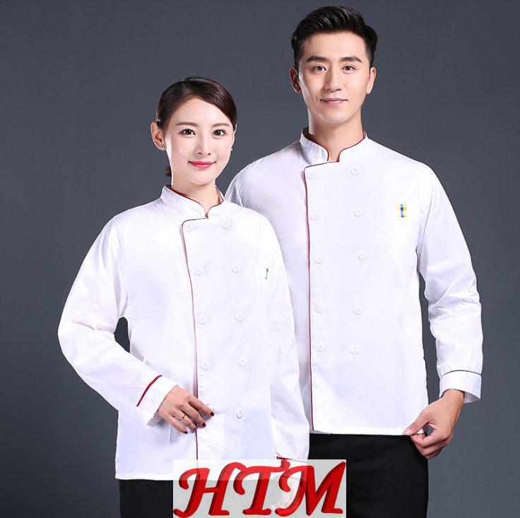 长袖上衣厨师服HTM-CS 208-L008