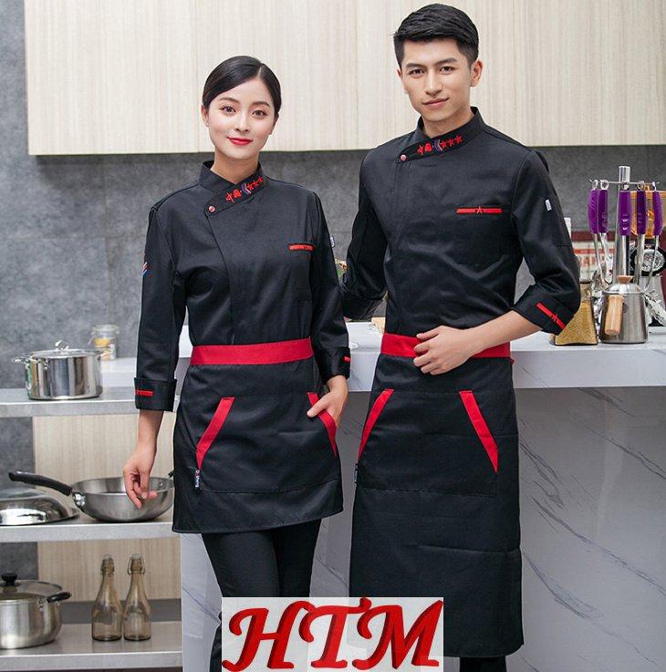 纤维棉工作服西餐厅中餐厅 HTM-CS HY-C0202028