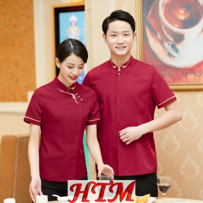 餐飲服務員服 短袖 HTM-CS33 45-C0203008