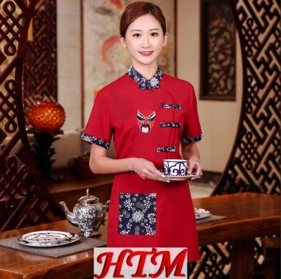 火鍋店服務員工作服 HTM-CS33 WHX-C0205014