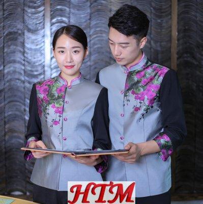 酒店服務員長袖工作服 HTM-CS94 LYDS-L003