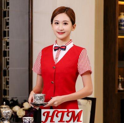 西餐廳工作服 HTM-CS41 WHX-C0204001