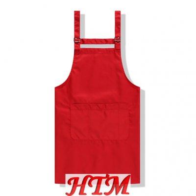 防水防油铜扣三口袋可调节围裙 HTM-S15  CFWQ06
