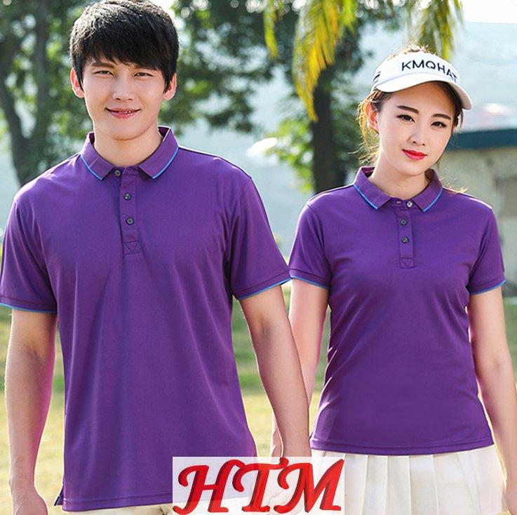 商务休闲经典排汗透气短袖POLO衫 HTM-S22 47-19A12