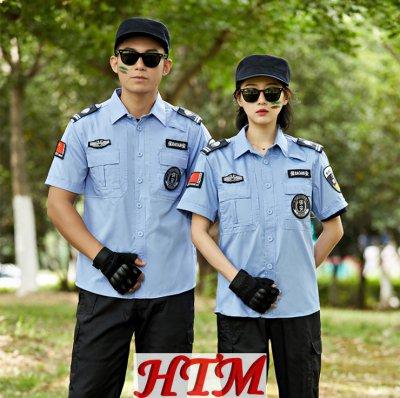 特勤服上衣浅蓝夏短衬衫 HTM50-MB-C0110001