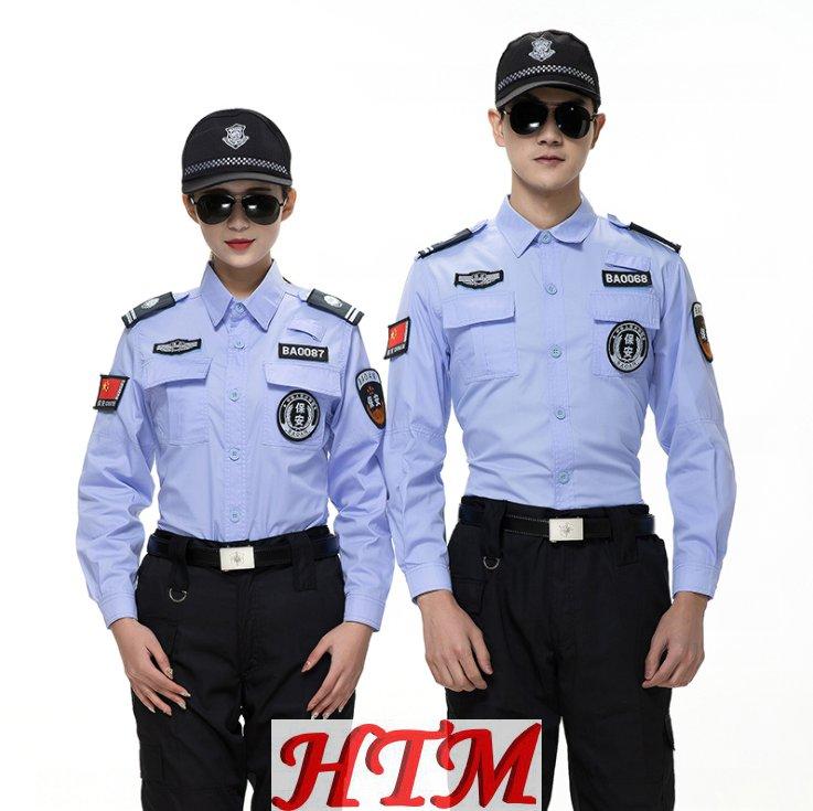 安保物业执勤制服套装薄款半长袖 HTM78-C0110003