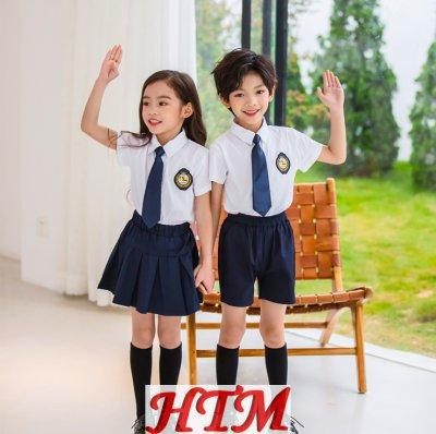 幼儿园园服新款小学生校服学院风HTM-S47 LKL-8130