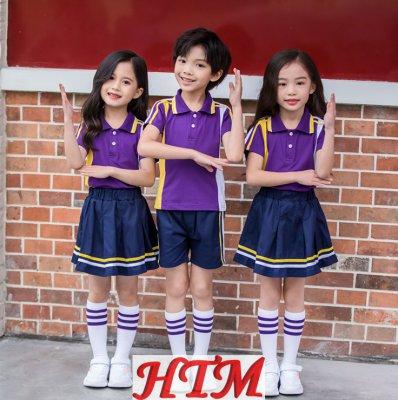 学院风班服小学生校服幼儿园园服HTM-S45 LKL-8129