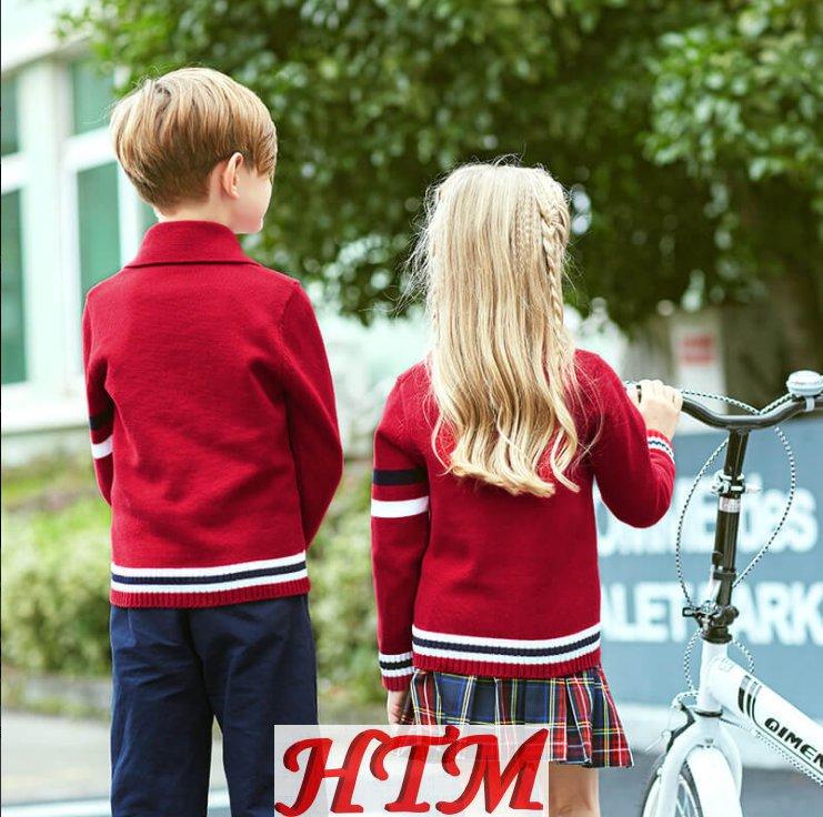 幼儿园服春秋冬装小学生校服英伦学院套装HTM-S127 BL-0272