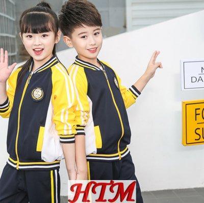 幼儿园园服纯棉运动服校服套装HTM-S41 36-6828